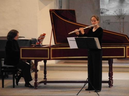 Le Tenor Michel Mulhauser Et La Claveciniste Martine Neubert Pugin Ont Interprete Des Airs Sonates Baroques En Trio Duo Ou Solo